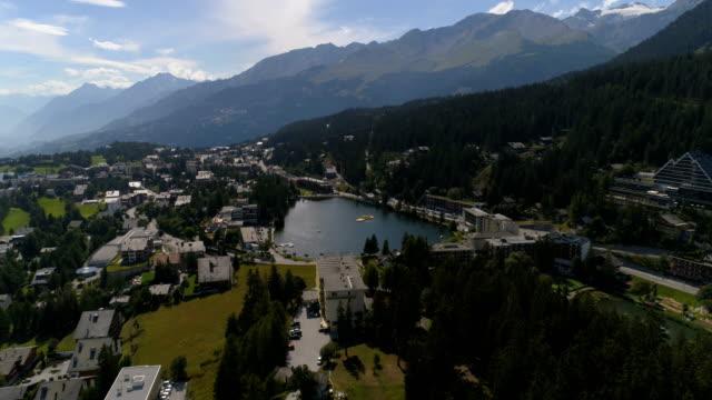 Montana lac Grenon - Aerial 4K - Phantom 4 PRO video