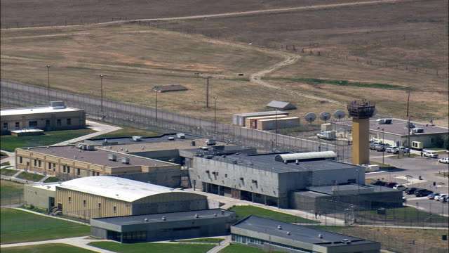 Montana State Prison  - Aerial View - Montana, Powell County, United States