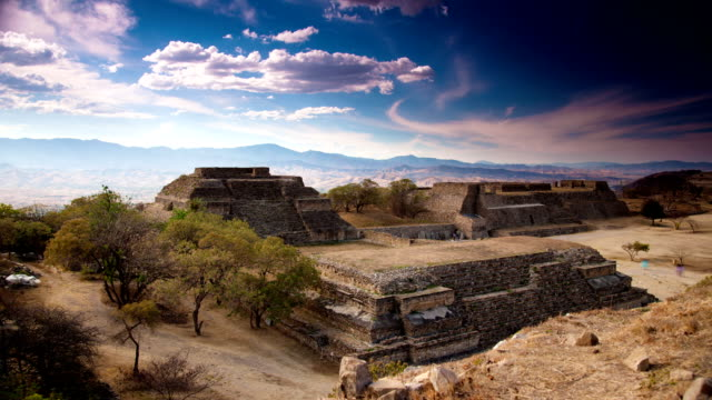 TIME LAPSE: Monte Alban, Mexico video
