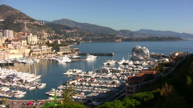 Monte Carlo scenic view video