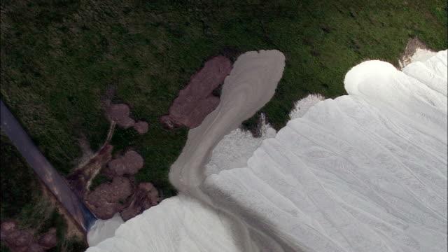Monte Kali Salt Hill  - Aerial View - Hesse,  helicopter filming,  aerial video,  cineflex,  establishing shot,  Germany video