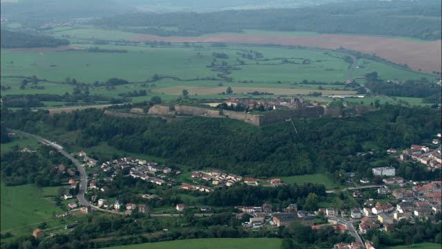Montmedy Citadel  - Aerial View - Lorraine, Meuse, Arrondissement de Verdun, France