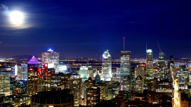Video Montreal time-lapse