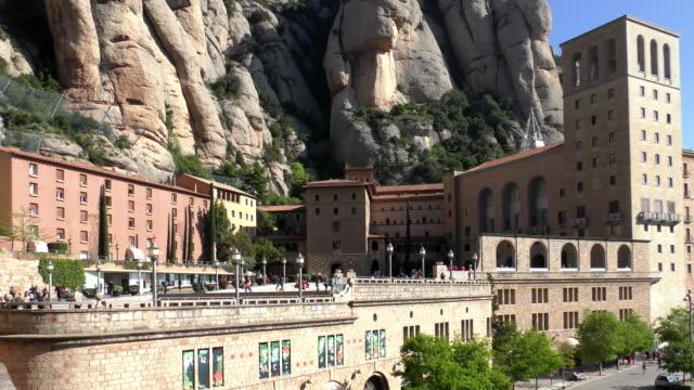 Montserrat Abbey - Catalonia, Spain video