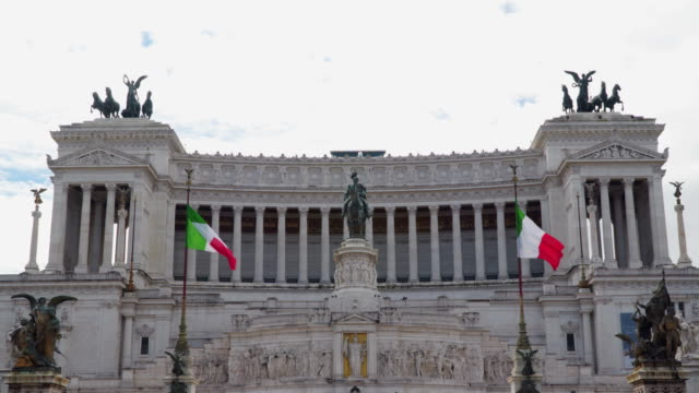 Monument to Vittorio Emanuele II in Rome video