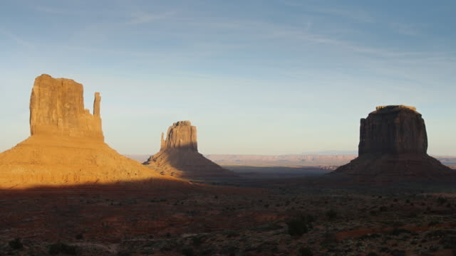 Monument Valley at Sunrise video