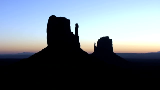 Monument Valley Navajo Tribal Park at Sunrise video