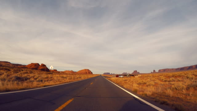 Monument Valley outstanding rock formations - Road trip in the United States video