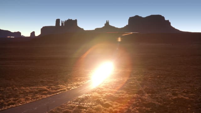 Monument Valley Road Time Lapse