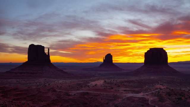 Monument Valley Sunrise Time Lapse