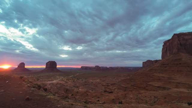 Monument Valley Sunrise video