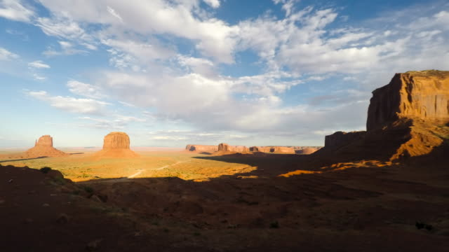 Monument Valley Sunset video