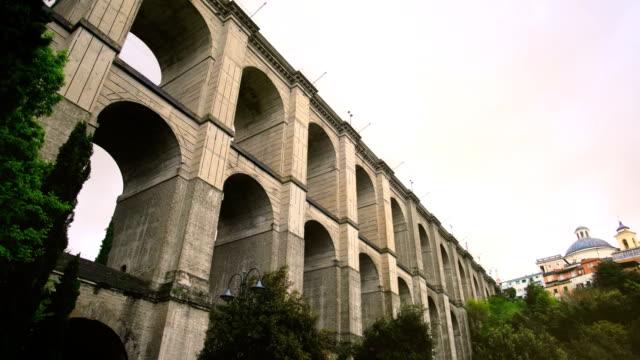 monumental bridge of Ariccia - Rome province in Lazio - Italy