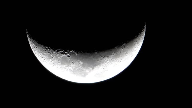 Video Moon at Night