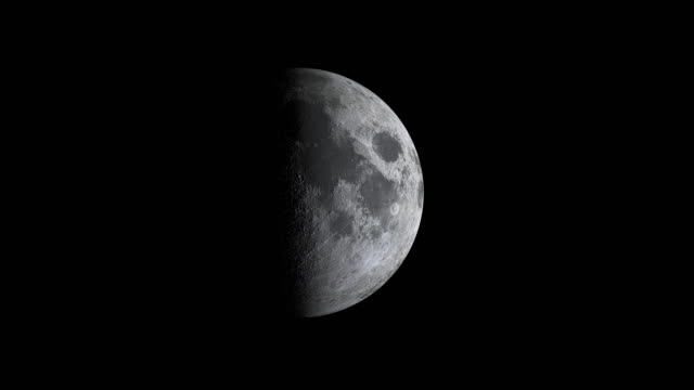 Moon cycle or Lunar phase animation Moon cycle or Lunar phase animation moon stock videos & royalty-free footage
