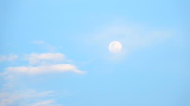 달의 날 - 낮 스톡 비디오 및 b-롤 화면