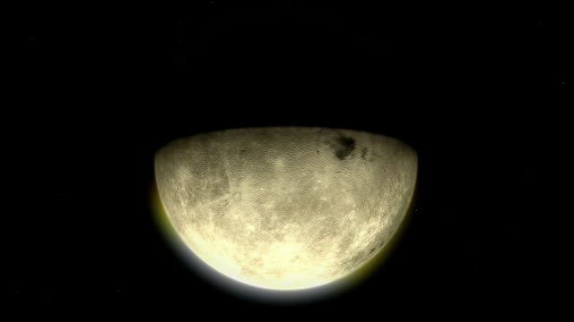 Moon evolution
