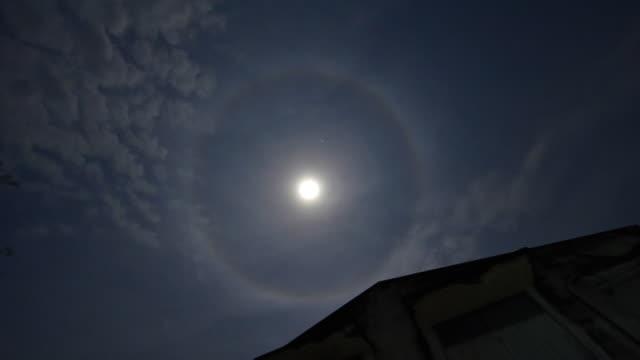 Moon halo video