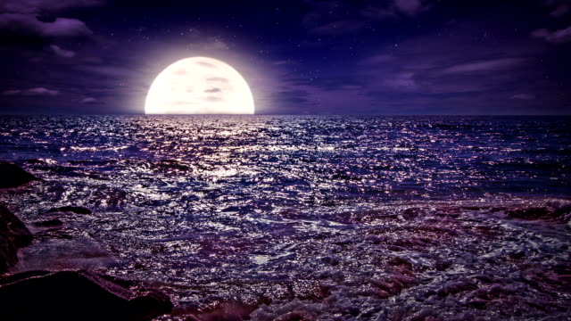 Moon rise video