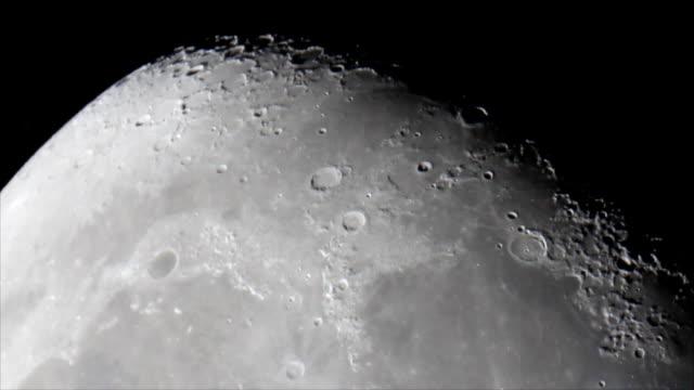 surface lunaire Mare Imbrium (mer de douches - Vidéo