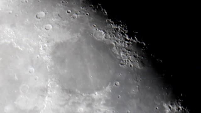 月面 Mare Imbrium (海のシャワー) ビデオ