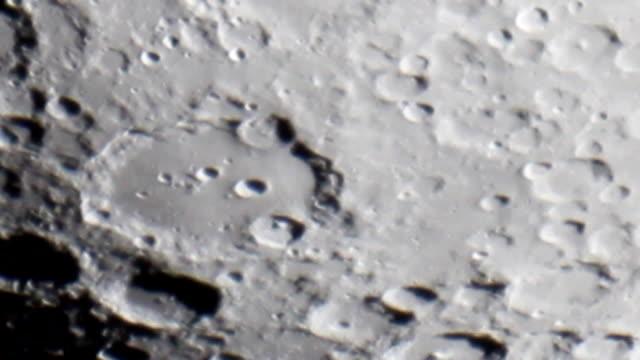 月面ムーンクレーター Clavius ビデオ