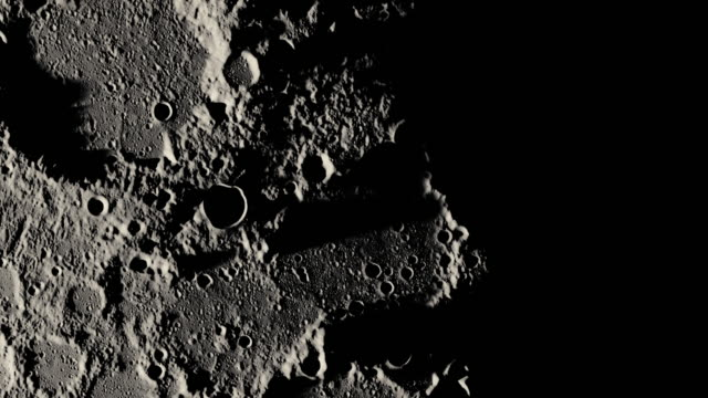 月球表面 - 水平面角度 個影片檔及 b 捲影像