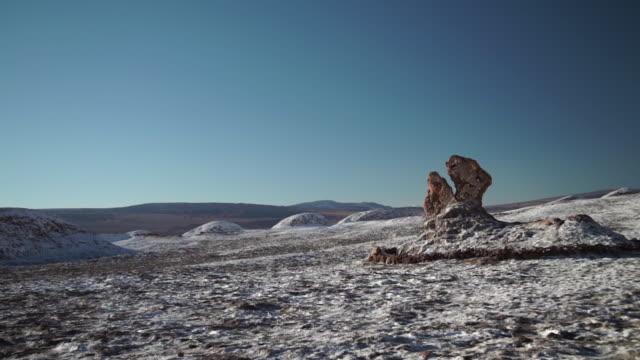 stockvideo's en b-roll-footage met moon valley / valle de la luna - atacama woestijn - maasvallei