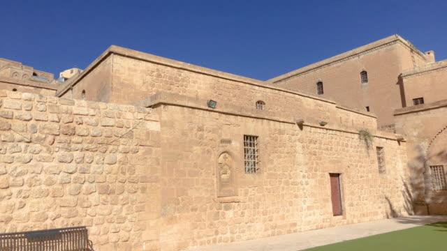 Mor Behnam Church, Mardin, Turkey Mor Behnam is a 6th century syriac church in Mardin, Turkey. Video has been captured by iPhone 8 Plus. mardin stock videos & royalty-free footage