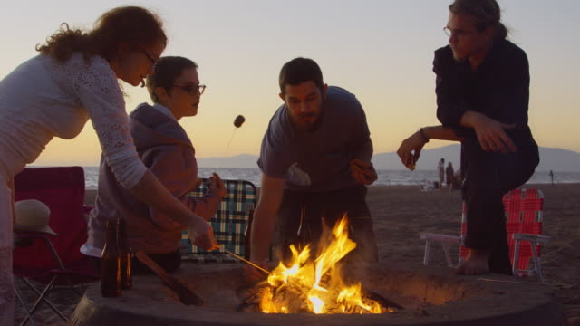 S'Mores at Sunset - video