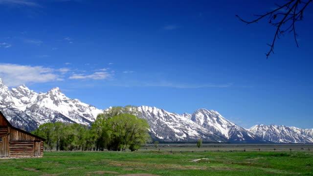 Morman Barn, Teton National Park, Wyoming video