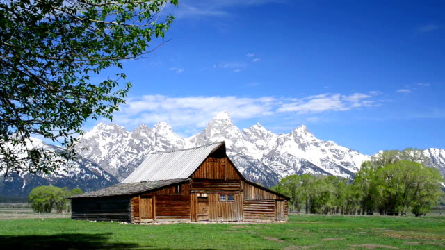 Mormon Barn in Teton National Park video