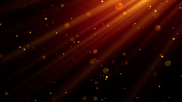 Morning Light Rays Gold Loopable Background video