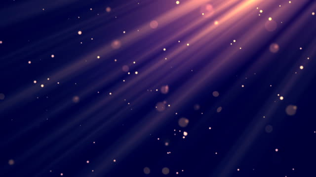 Morning Light Rays Purple Loopable Background video