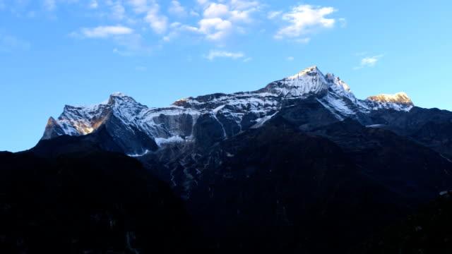 Morning Mountain Time Lapse video