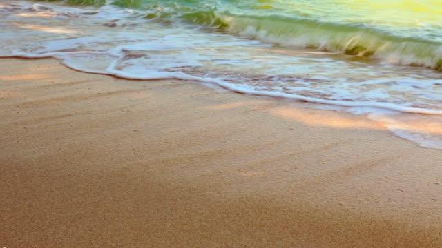 morning sea wave - vattenbryn bildbanksvideor och videomaterial från bakom kulisserna