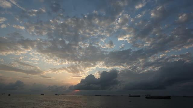 Morning sky video