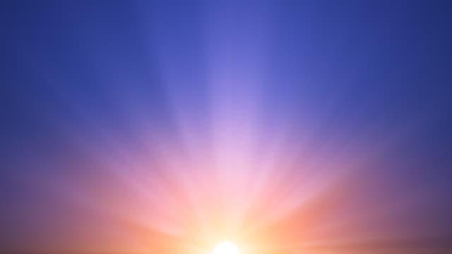 Morning Sunrise & Sky (Loop)