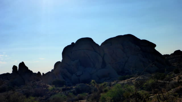 Morning time lapse at Sull Rock Joshua Tree National Park