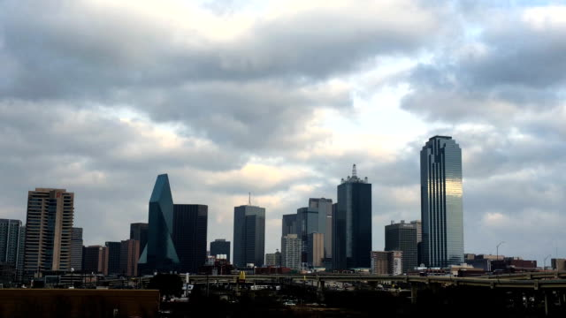 Morning view of the the Dallas skyline
