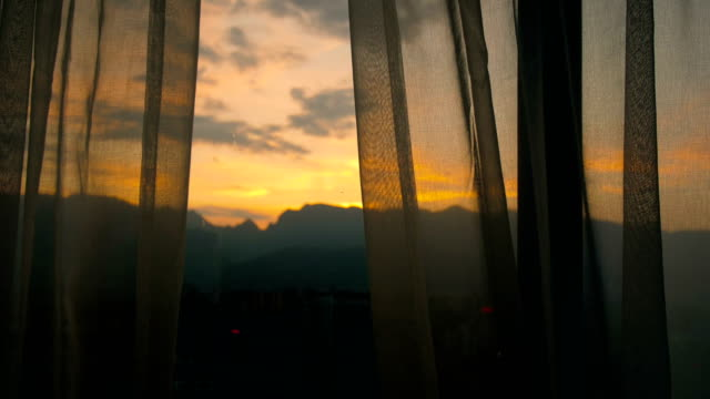 morning window - bedroom video stock e b–roll