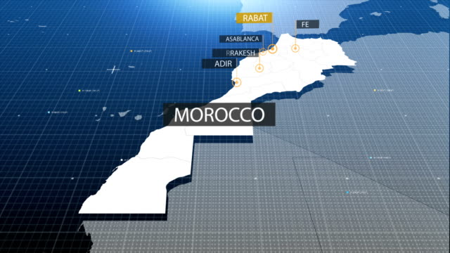 moroccan map with label then with out label video