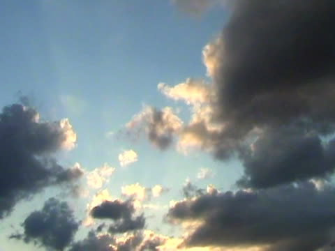 morphing clouds video