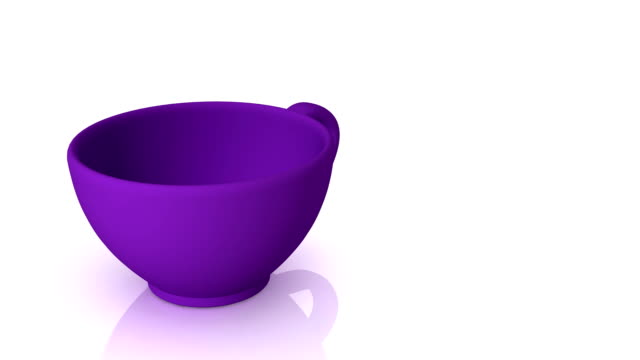 Morphing cups video