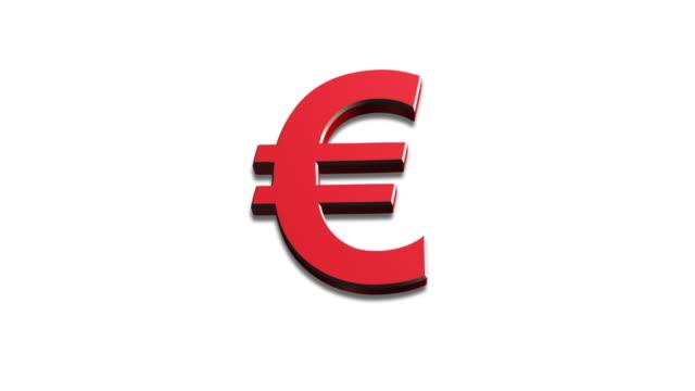morphing currency icons yen dollar pound euro - pound sterling isolated bildbanksvideor och videomaterial från bakom kulisserna