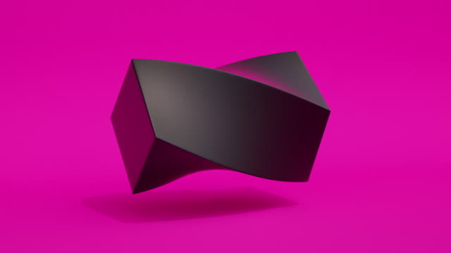 Morphing Shapes LOOP (purple neon) A loopable animation of shapes morphing morphing stock videos & royalty-free footage