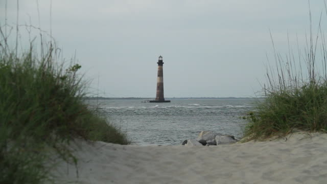 Morris Island lighthouse video