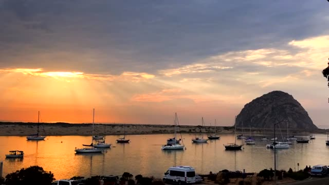 Morro Bay Sun Timelapse video