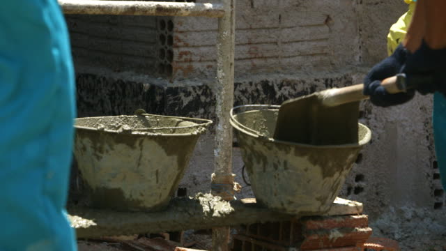 mortar and buckets video