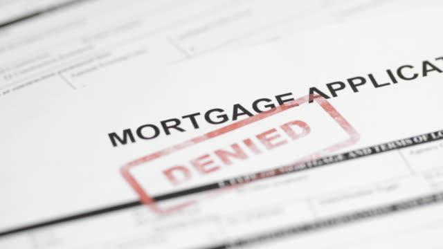 Mortgage Application - 4K video